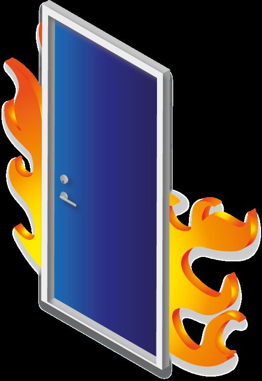 tűzgátló ajtó